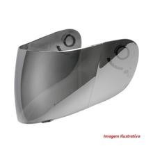 viseira espelhada cromada agv k3 k4 ( street 8 ) anti-risco