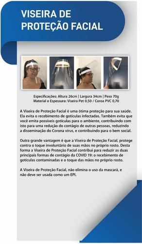 viseira facial     (atacado e varejo)