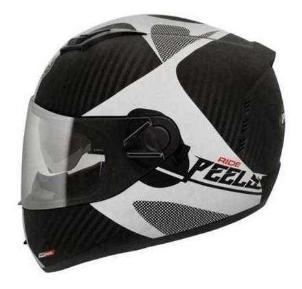 viseira fumê capacetes peels icon original antirisco