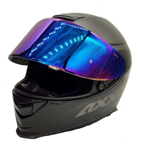 viseira original capacete axxis eagle cor iridium camaleão