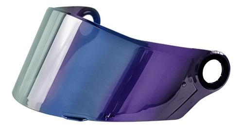 viseira original capacete ls2 ff358 iridium camaleão