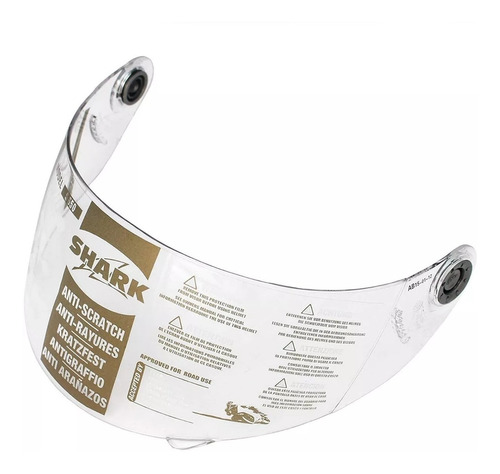viseira original do shark s700 ridill openline transparente