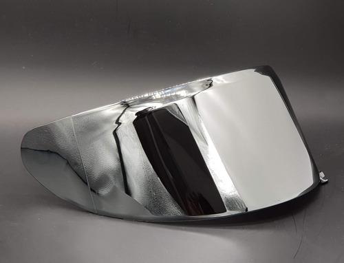 viseira para capacete axxis eagle espelhada prata