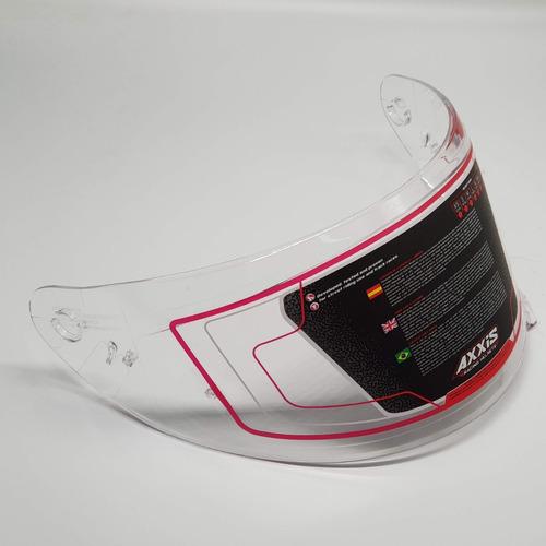viseira para capacete axxis eagle transparente original