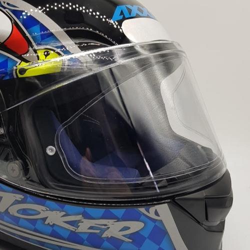 viseira película anti embaçante sky pinlock capacete axxis