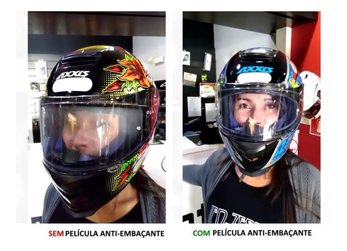 viseira película anti embaçante sky pinlock capacete ls2