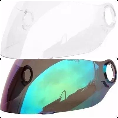 viseira shark s500,s500 air cristal polivisor 1662c + 1662ca