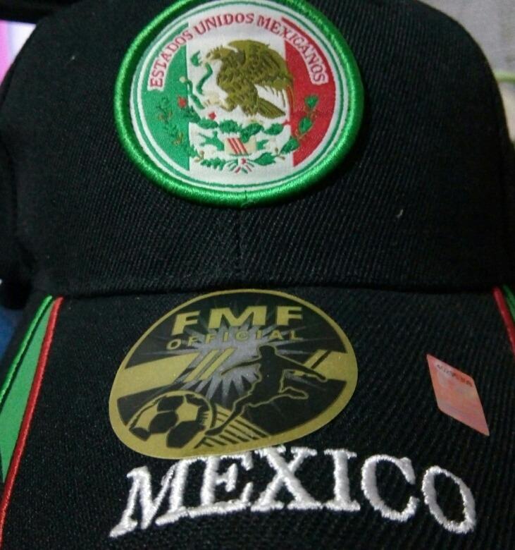 Visera Gorra Fútbol México Nueva -   395 8aacd81bdcc