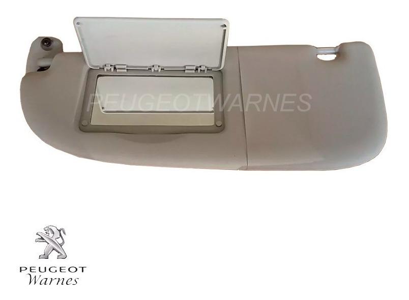 Visera Parasol para Peugeot 206 2008 gris a/ños 1999