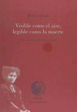 visible como el aire, legible como la muerte(libro poesía)