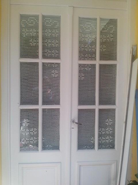 Visillo puerta cocina amazing visillos para ventanas dormitorio beige pony dance ideal para Visillos para puertas
