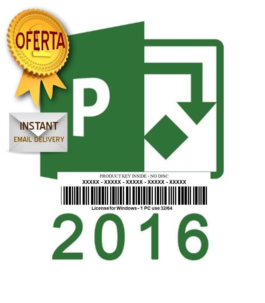Visio 2016 / Project 2016 32/64 Bit 1pc Entrega Inmediata