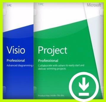 visio - project 2016 professional plus licencia