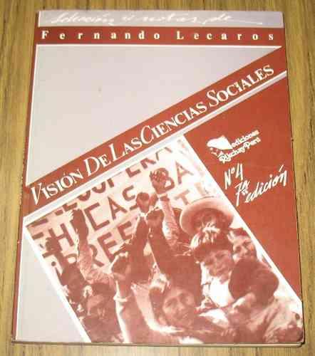 vision de las ciencias sociales : f. lecaros - rikchay perú