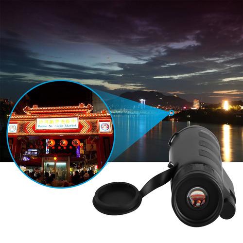 visión nocturna 40x60 hd óptico monocular caza de viaje que