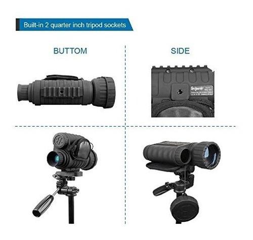 vision nocturna monocular hd camara infrarroja digital alcan