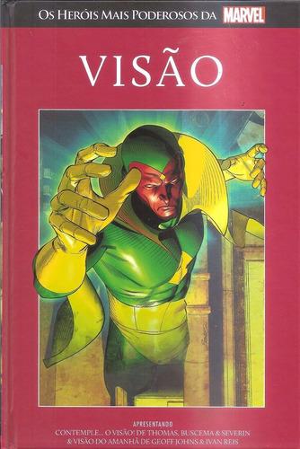 visâo nº 17 os heróis mais poderosos da marvel capa dura