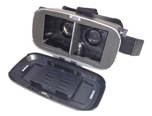 visor 3d nisuta para smartphones ns vr2 bluetooth