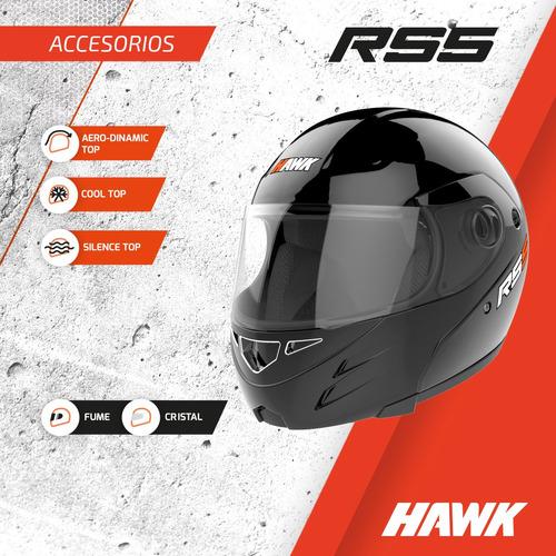 visor casco moto