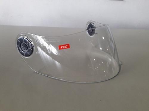 visor casco moto v-can 107 transparente original devotobikes