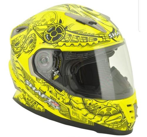 visor casco shaft 520 pro