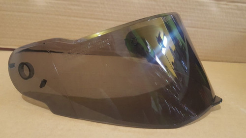 visor casco shaft 520 transparente y humo (polarizado)