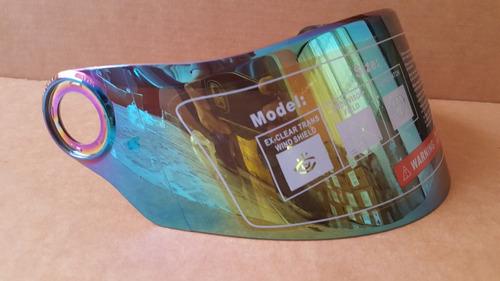 visor casco shaft 821, 581, 525, 519w, iridium o tornasol