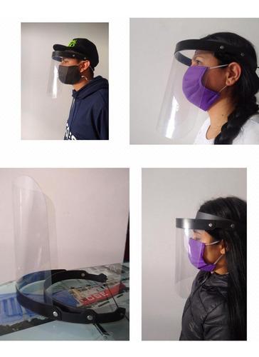 visor de protección facial