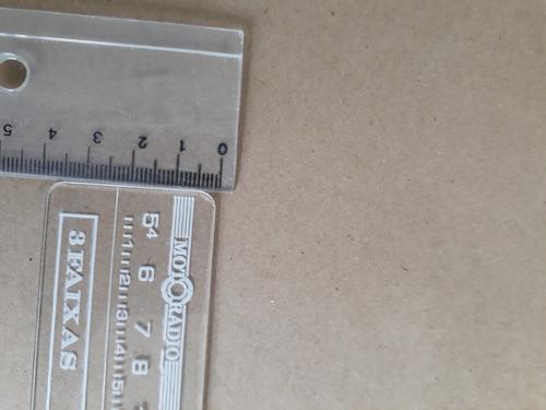 visor  de radio antigo opala, fusca, chevette