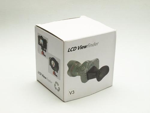 visor lcd para canon v3 t3 i - 70 d - 60 d