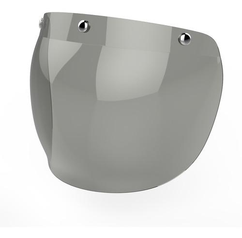 visor para casco burbuja bubble cafe racer hawk devotobikes