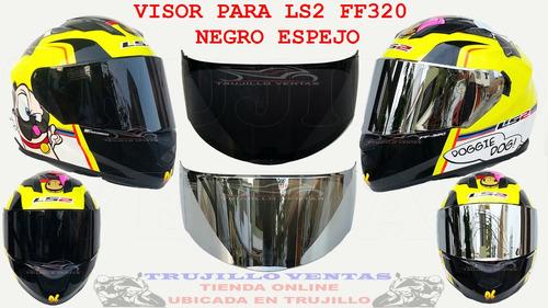 visor para ls2 ff320 ktm ns r15 fz kawasaki cbr pulsar @tv