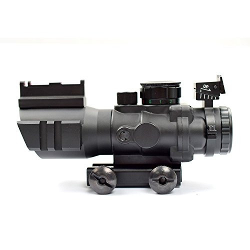 visor rifle scope tactical 4x32  triple illuminacion