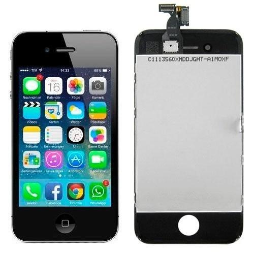 visor tela touch display lcd iphone 4s preto
