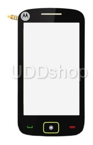 visor tela vidro touch screen motorola ex245