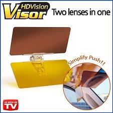 visor visión hd conducción día noche anti reflejo ver video!