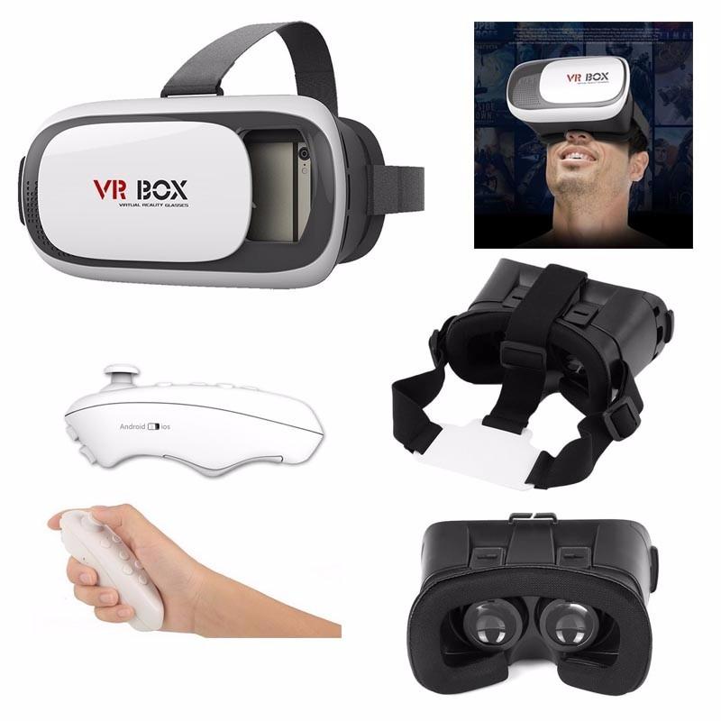 visor vr box 2 0 lentes virtual reality 3d envio gratis en mercado libre. Black Bedroom Furniture Sets. Home Design Ideas