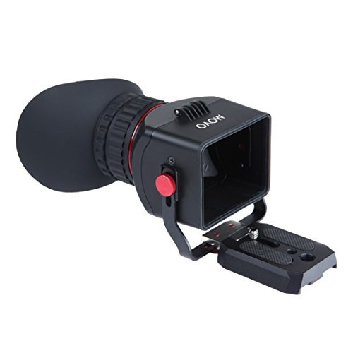 visoresfoto movo vf40 universal 3x lcd visor de video fli..