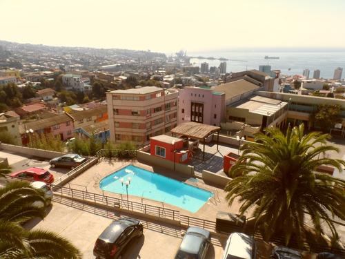 vista bahía valparaiso-8 minutos caminando a plaza victoria