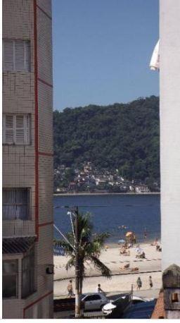 vista da praia = salão de festas = sem garagem - ap1123