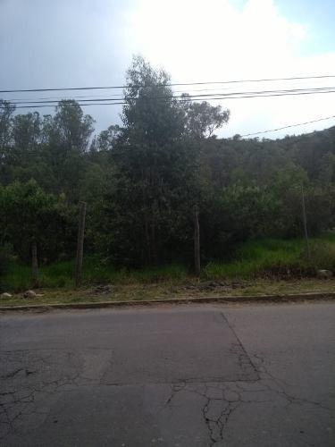 vista del valle: terreno listo para construir.