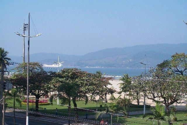 vista lateral para o mar   =  gonzaga - ap0752