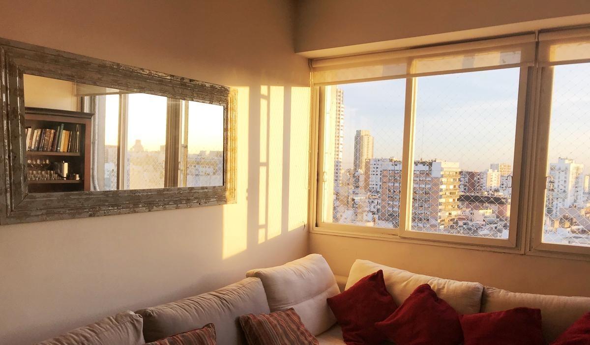 vista panorámica, 80 m², 2 dormitorios, rodeado de parques, en palermo
