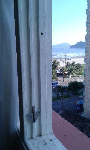 vista para o mar = sem garagem= ótima localização - ap0709