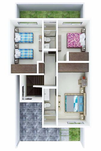 vistalta residencial casa modelo lux