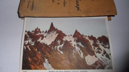 vistas de nahuel huapí 10 tarjetas postales edición venzano