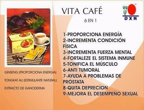 vita cafe dxn con , ginseng y ganoderma  envío gratis a lima