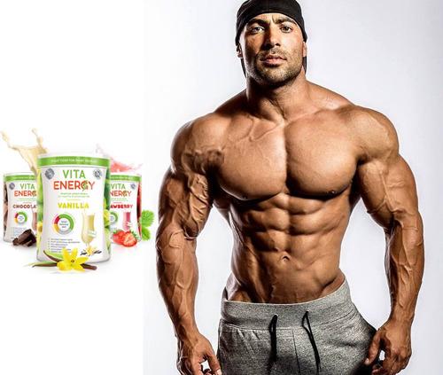vita energy chocolate - proteina muscular