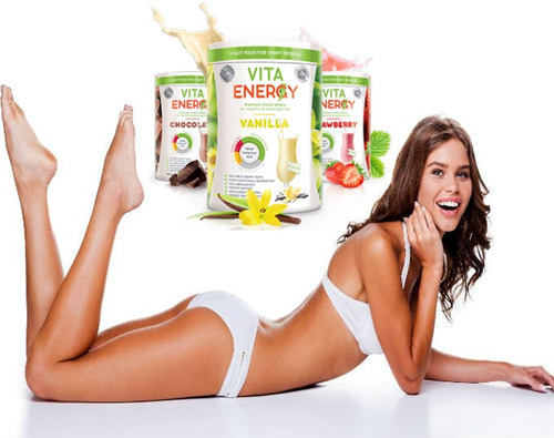 vita energy vanilla - proteina anti-grasa, aumento muscular