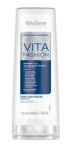 vita fashion hair modelador shampoo condicionador vitaderm